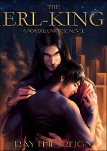 Cover for the original Erl-King story, Raythe's first published version of the high fantasy father / son incest saga.